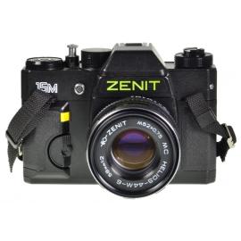 Zenit 15M + 58mm f/2 Helios-44M-6 MC