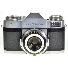 Zeiss Ikon Contaflex Prima + Pantar 45mm f/2.8