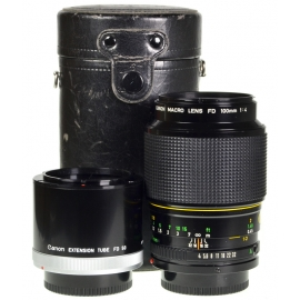 Canon FDn Macro 100mm f/4