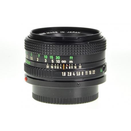 Canon FDn 50mm f/1.8