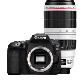 Canon EOS 90D + EF 100-400/4.5-5.6L IS II bundle