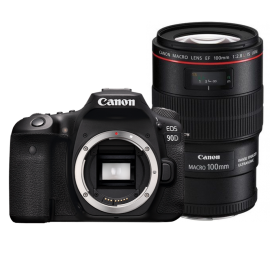 Canon EOS 90D + EF 100/2.8 L IS Macro bundle