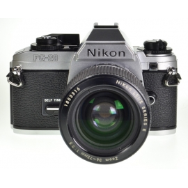 Nikon FG-20 + Series E 36-72mm f/3.5