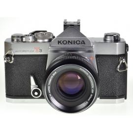 Konica Autoreflex T3 + 50mm f/1.7 Hexanon AR