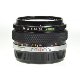 Olympus OM-System G.Zuiko Auto-W 28mm f/3.5