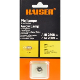 Kaiser Arrow Lamp 3V E10