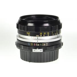 Nikon Nikkor-H.C 50mm f/2 Auto