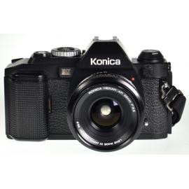 Konica FS-1 + 28mm f/3.5 Hexar AR