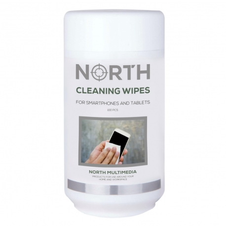 North Cleaning wipes for phone and tablet