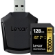 LEXAR Pro 128GB 2000X SDHC/SDXC UHS-II U3 (V90) - 300mb/s memory card