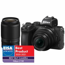 Nikon Z50 + Z DX 16-50mm + Z DX 50-250