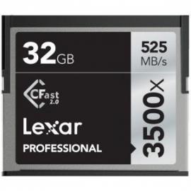 Lexar 32GB CFast 3500X 525MB/265MB 4K muistikortti