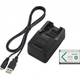Sony ACC-TRW charger + NP-BX1 battery