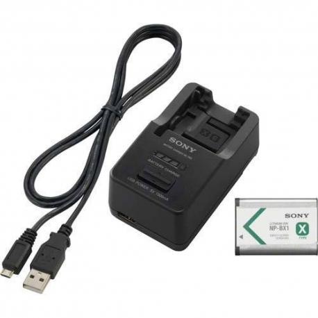 Sony ACC-TRW -laturi + NP-BX1 Alkuperäisakku
