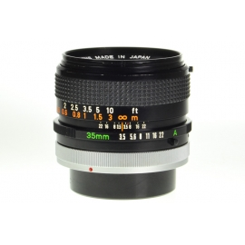 Canon FD 35mm f/3.5 S.C.