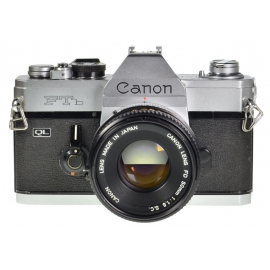 Canon FTb QL + FD 50mm f/1.8 S.C.