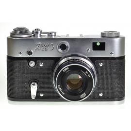 FED-3 + 52mm f/2.8 Industar-61