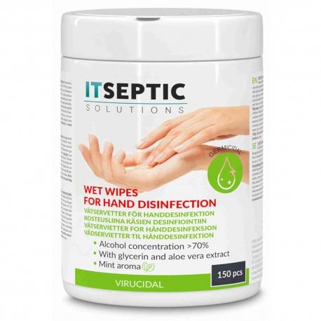 ITSEPTIC Käsidesi Kosteusliina medium 100 kpl