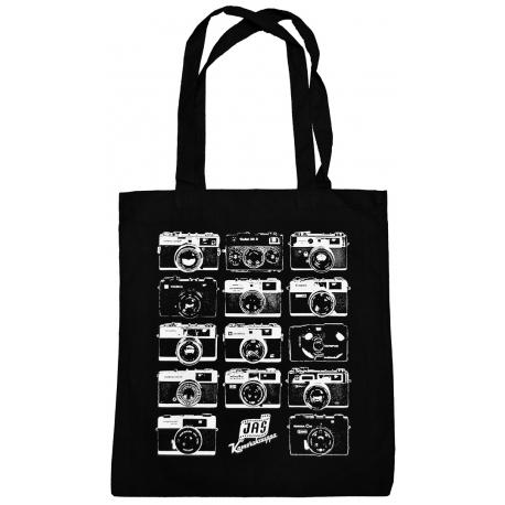 Vintagekamera kangaskassi