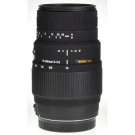 Sigma DG 70-300mm f/4-5.6 Macro - Canon