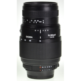 Sigma AF 70-300mm f/4-5.6 D - Nikon