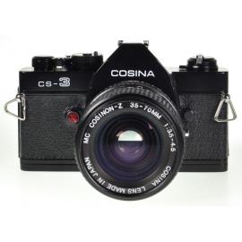 Cosina CS-3 + Cosinon-Z 35-70mm + Auto Winder