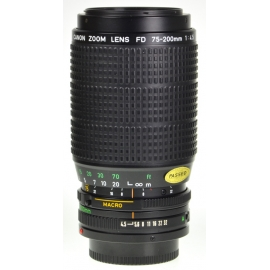 Canon FDn 75-200mm f/4.5 Macro