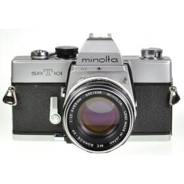 Minolta SRT-101 + 55mm f/1.7 MC Rokkor-PF