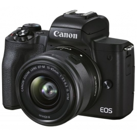 Canon EOS M50 Mark II + EF-M 15-45 IS STM