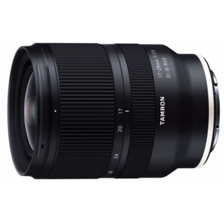 Tamron 17-28mm f/2.8 DI III RXD for Sony E-mount objective
