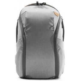 Peak Design Everyday Backpack zip 20l Kamerareppu - Vaalean harmaa