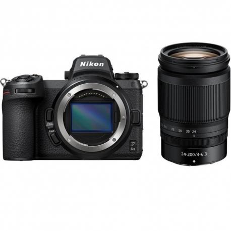 Nikon Z 6II peilitön kamera + 24-70mm f/4 S objektiivi