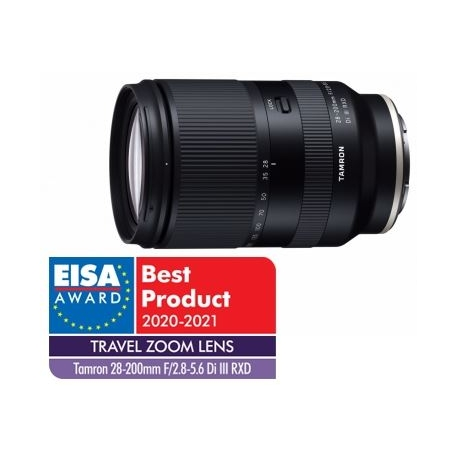 Tamron 28-200mm f/2.8-5.6 DI III RXD for Sony objective