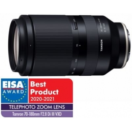 Tamron 70-180mm f/2.8 DI III VXD for Sony E-mount objective