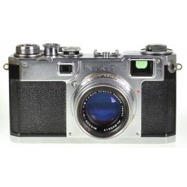 Nikon S2 'Black Dial' + 5cm f/2 Nikkor-H.C