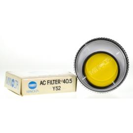 Minolta 40.5mm Y52 keltasuodin