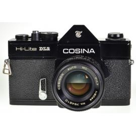 Cosina Hi-Lite DLR + Cosinon Auto 50mm f/1.7 MC