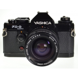 Yashica FX-D Quartz + ML 42-75mm f/3.5-4.5 Zoom