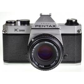 Pentax K1000 + SMC Pentax-M 50mm f/2