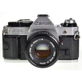 Canon AE-1 Program + FDn 50mm f/1.8