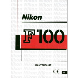 Nikon F100 Käyttöohje