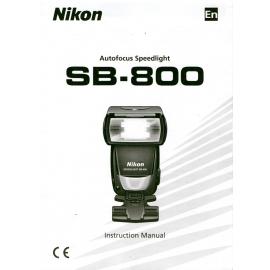 Nikon SB-800 Käyttöohje