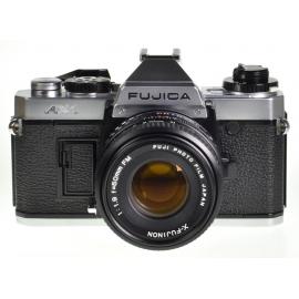Fujica AX-1 + X-Fujinon 50mm f/1.9 FM