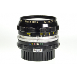Nikon Nikkor-H 28mm f/3.5 Auto