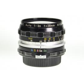 Nikon Nikkor-H.C 28mm f/3.5 Auto