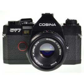 Cosina CT7 + Riconar 55mm f/2.2MC