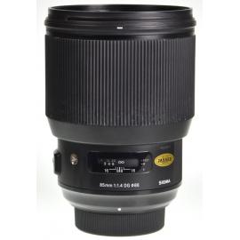 Sigma 85mm f/1.4 Art DG HSM - Nikon