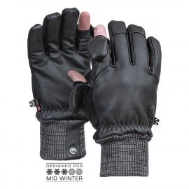 Vallerret Hatchet Leather Black - kuvaushanskat