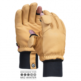 Vallerret Hatchet Leather Natural - Photography Glove