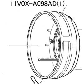 11V0X-A098AD MOUNT UNIT AF-S DX VR 70-300